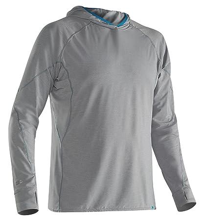 65fcc268d Amazon.com : NRS Men's H2Core Silkweight Paddling Hoodie : Sports ...