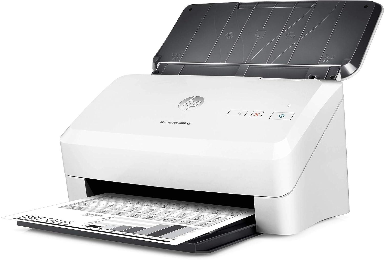 HP ScanJet Pro 3000 s3 - Escáner con Alimentador de Hojas: Hp ...