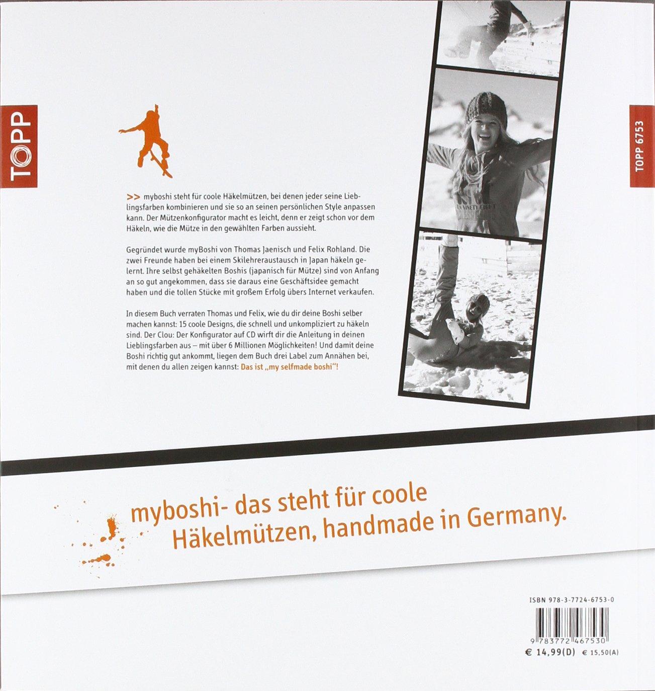Myboshi Mützenmacher Mützen In Deinem Style Selber Häkeln Amazon