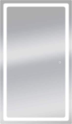 Dyconn Faucet Swan Horizontal/Veritcal LED Wall Mounted Backlit Vanity Bathroom LED Mirror
