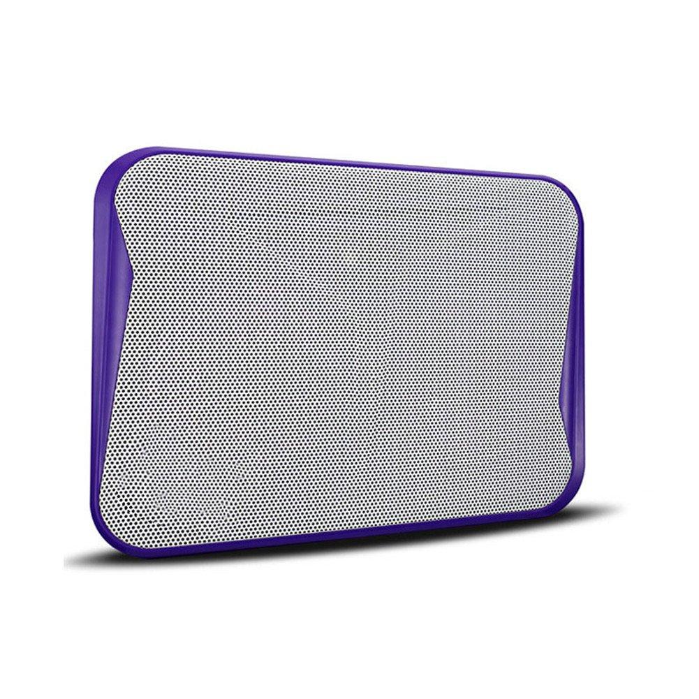 Kangsur Portable Laptop Cooler Silent Adjustable Ergonomic Detachable Notebook Cooling Pad,Purple