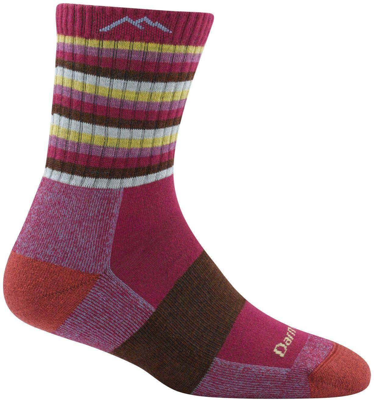 Darn Tough Coolmax Stripes Micro Crew Cushion Socks - Women's 1942