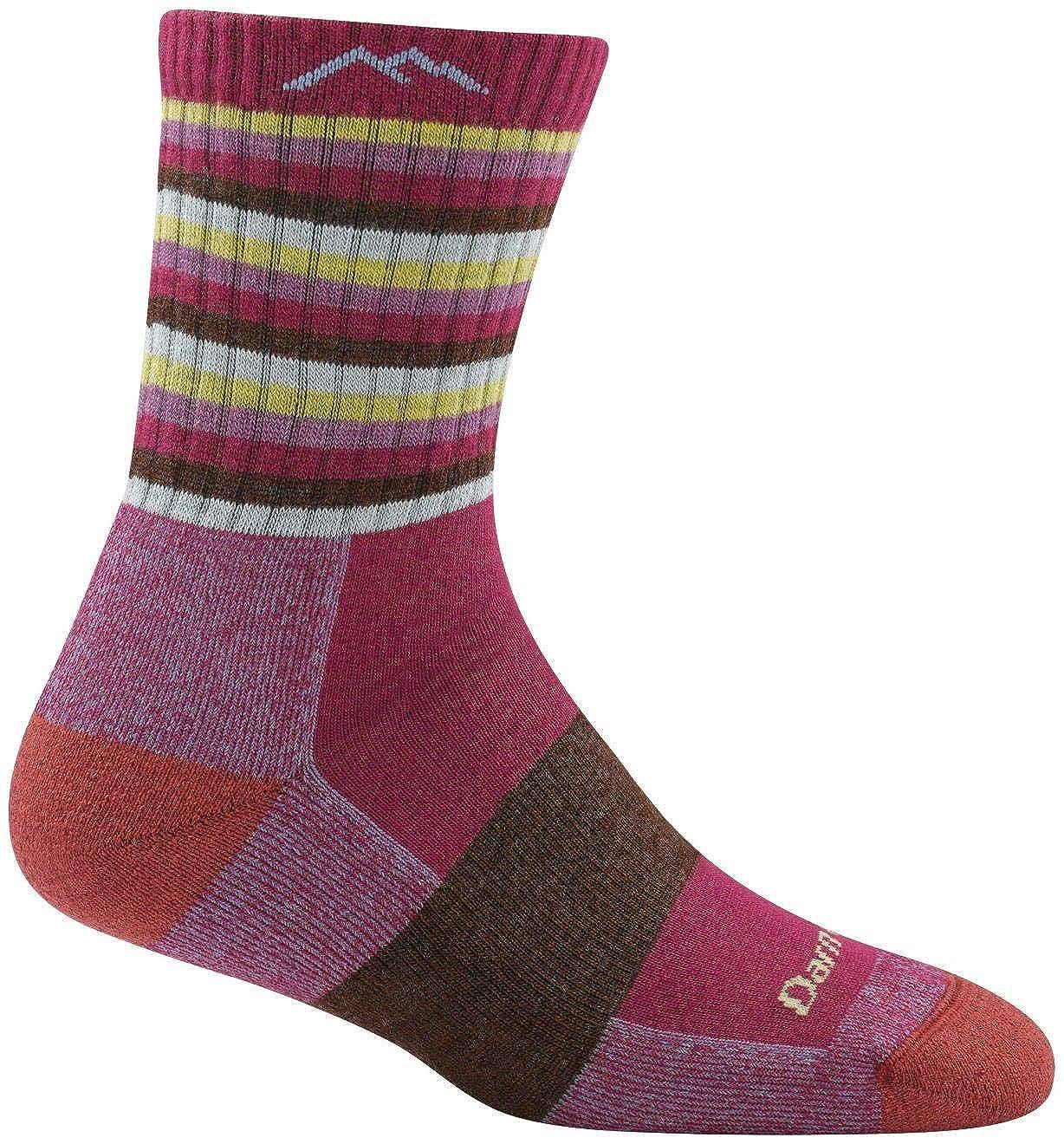 a4fe9004752 Amazon.com   Darn Tough Vermont Women s Merino Wool Micro Crew Cushion Socks    Athletic Socks   Clothing