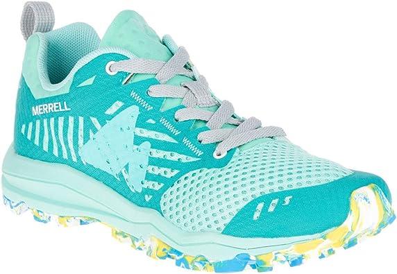 Merrell Dexterity, Zapatillas de Running para Asfalto para Mujer, Verde (Aruba), 39 EU: Amazon.es: Zapatos y complementos