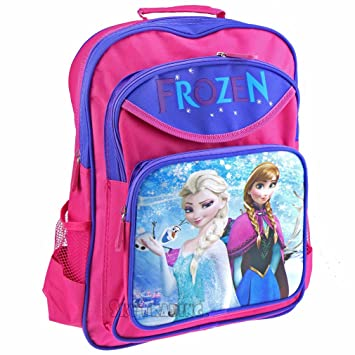 3752882aaa3 Xtrafun The Movie Disney Frozen Elsa   Anna Figure Kid s Children Travel  School Bag Backpack Rucksack  Amazon.co.uk  Luggage