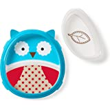 Skip Hop Zoo Smart Serve Plate and Bowl Set, Owl