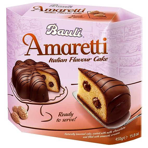 Crédito antes de la fecha Bauli Italian Amaretti con chocolate Cake, levadura italiano para Navidad