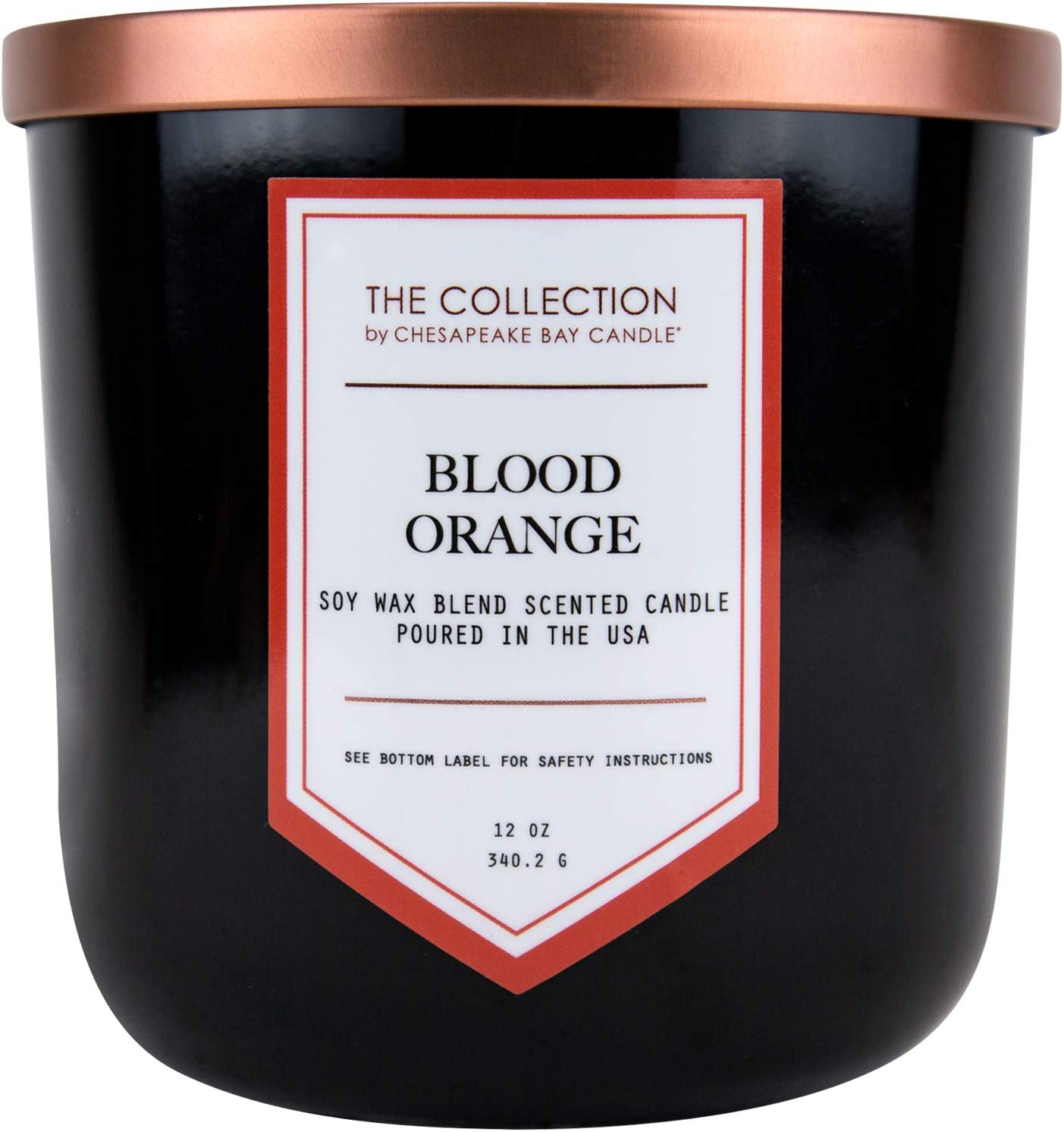 Chesapeake Bay Candle TA35216 Candle The Collection Two-Wick Scented Candle, Blood Orange
