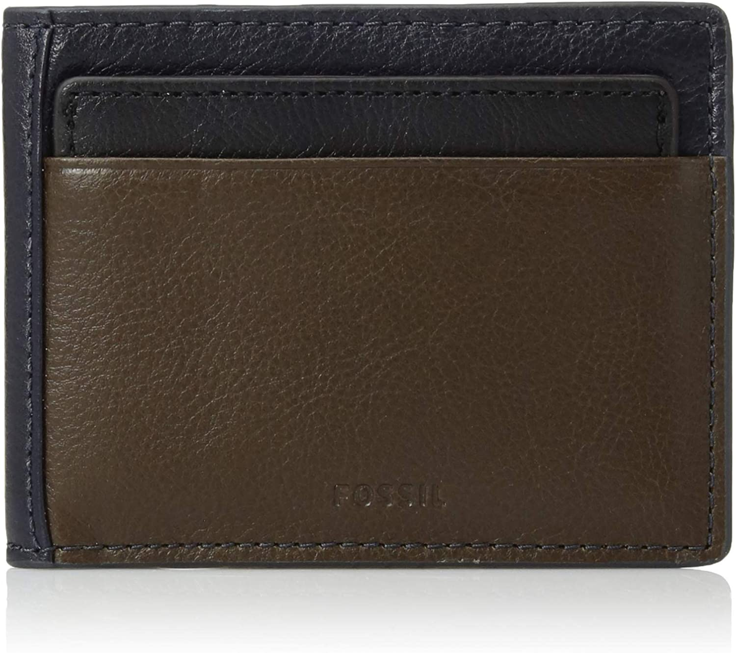 Fossil Men/'s Tate Rfid Leather Bifold Wallet