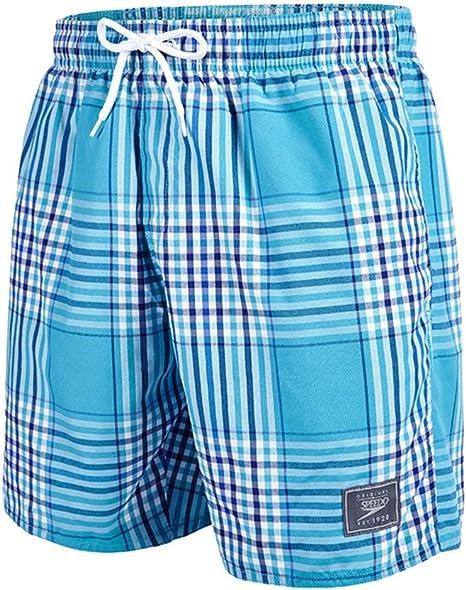 Speedo Mens Yarn Dyed Check Leisure Swim Shorts 16 inches Blue Navy XS-XXL