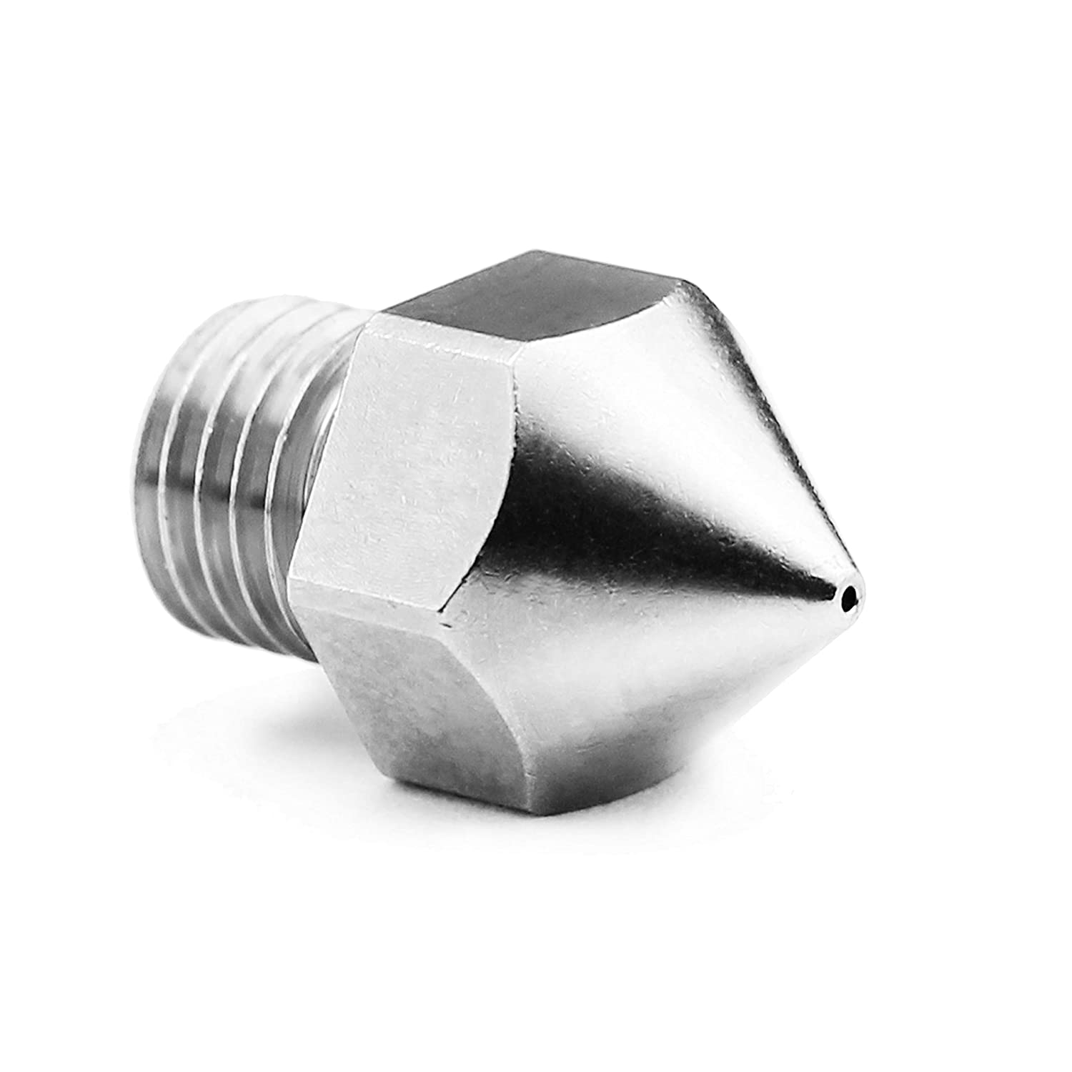 .6mm Micro Swiss Plated Wear Resistant Nozzle for Creality CR-10S Pro//CR-10 MAX Original hotend ONLY M6x.75mm Threads