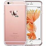 iPhone 6/6S Hülle (4,7 Zoll), ESR® Mania Series Transparent Weiche Silikon Schutzhülle TPU Bumper Case für iPhone 6/6S (Übel)