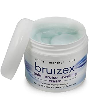 BRUIZEX Pain, Bruise and Swelling Cream, 3 oz  | Bruise Removal Cream with  Soothing Arnica Gel and