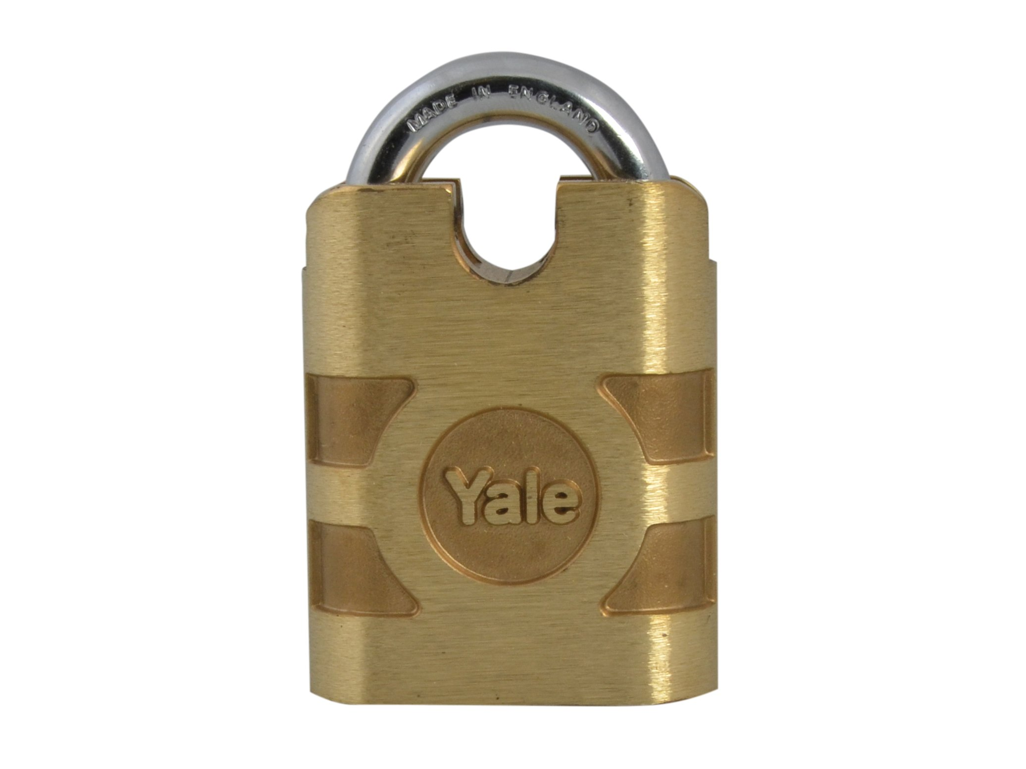 Yale Locks L850 54mm Bronze Weatherproof Padlock Closed Shackle Keyed Alike by Yale Locks