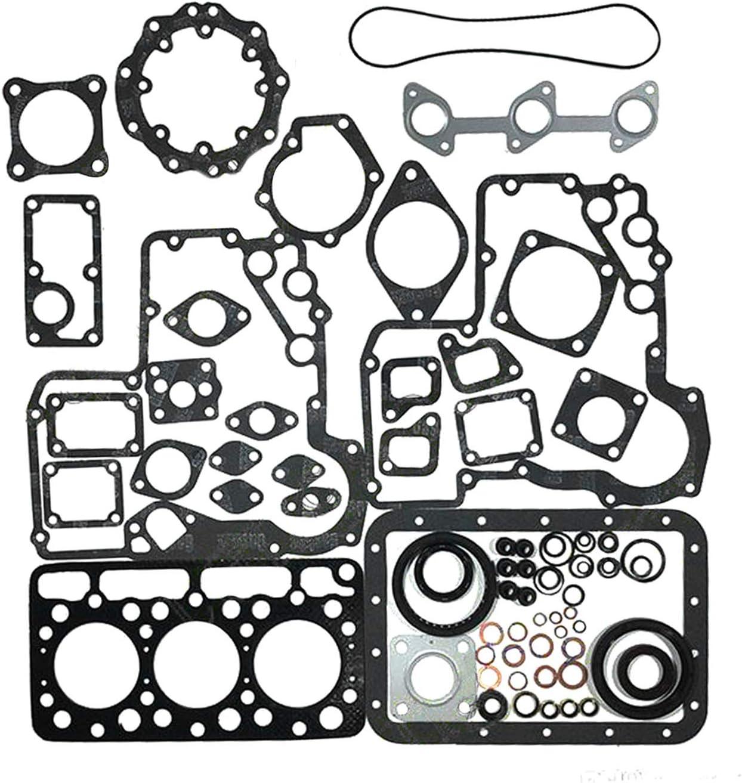Kit con guarnizione cilindro e guarnizione per trattore Kubota D750 B5200 B7100 Notonmek 15975-03310