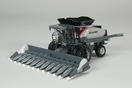 Amazon com: Gleaner S97 Combine with Corn and Draper Head die cast