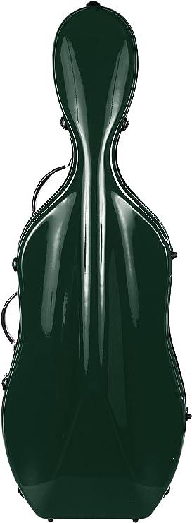 Estuche para Violonchelo fibra de vidrio Excellent 4/4 Verde M-Case: Amazon.es: Instrumentos musicales