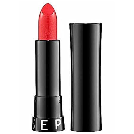 Sephora Collection Rouge Shine Lipstick No. 24 Hot Spot – Shimmer – Bright Pinkish Red with Iridescent Shimmer 0.13 Oz