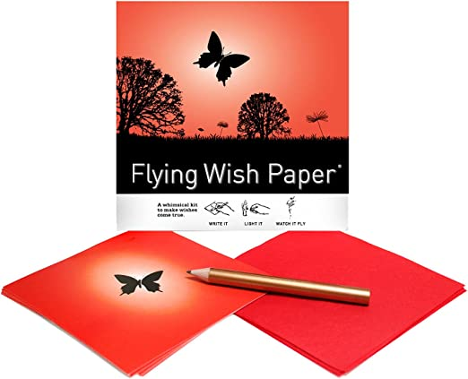 Butterfly Flying Wish Paper