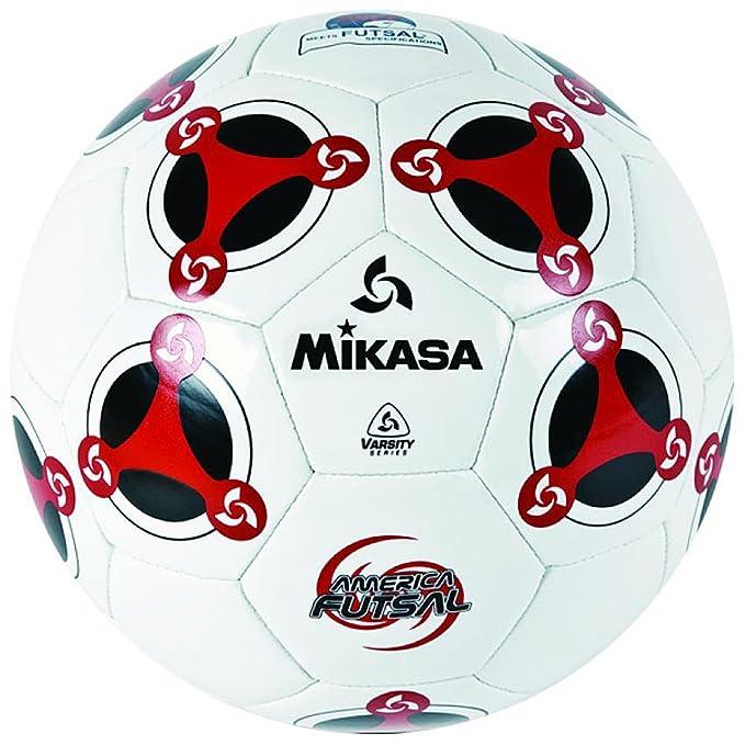 Mikasa de fútbol sala de modelo MKS Tpu FSC 64 - blanco/rojo ...