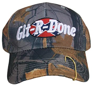 a69fc85577c Git-R-Done Larry the Cable Guy Camo Hat (Camouflage w  hook)  Amazon.co.uk   Sports   Outdoors