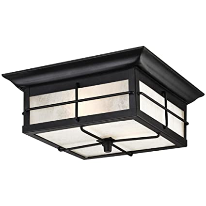 Amazon westinghouse 6204800 orwell 2 light outdoor flush mount westinghouse 6204800 orwell 2 light outdoor flush mount fixture textured black workwithnaturefo