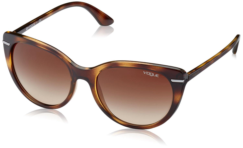 Vogue 0Vo2943Sb Gafas de sol, Dark Havana, 55 para Mujer ...