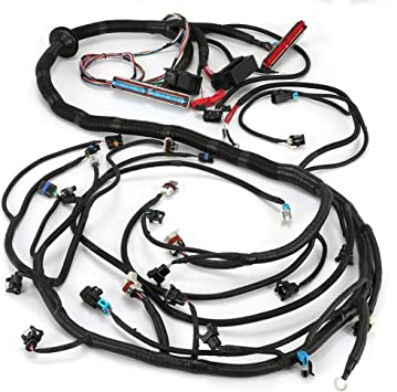 [EQHS_1162]  Amazon.com: 1997-2002 LS1/LSX Engine DBC Standalone Wiring Harness with T56  Transmission or Non-Electric 4.8 5.3 6.0: Automotive | T56 Wiring Harness |  | Amazon.com