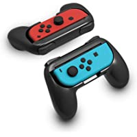 Redlemon Controles para Nintendo Switch Tipo Handle Grip para Joy-con (Paquete de 2 Piezas), Universales, Diseño…