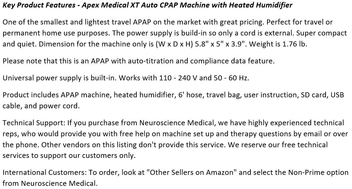 Apex_Medical_XT_Auto_CPAP_Machine_with_Heated_Humidifier