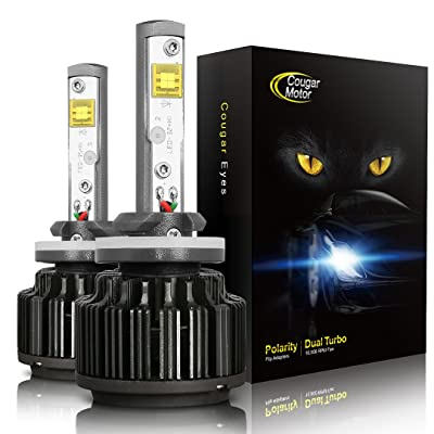 Cougar Motor H3 60W LED Headlight Bulbs All-in-One Conversion Kit