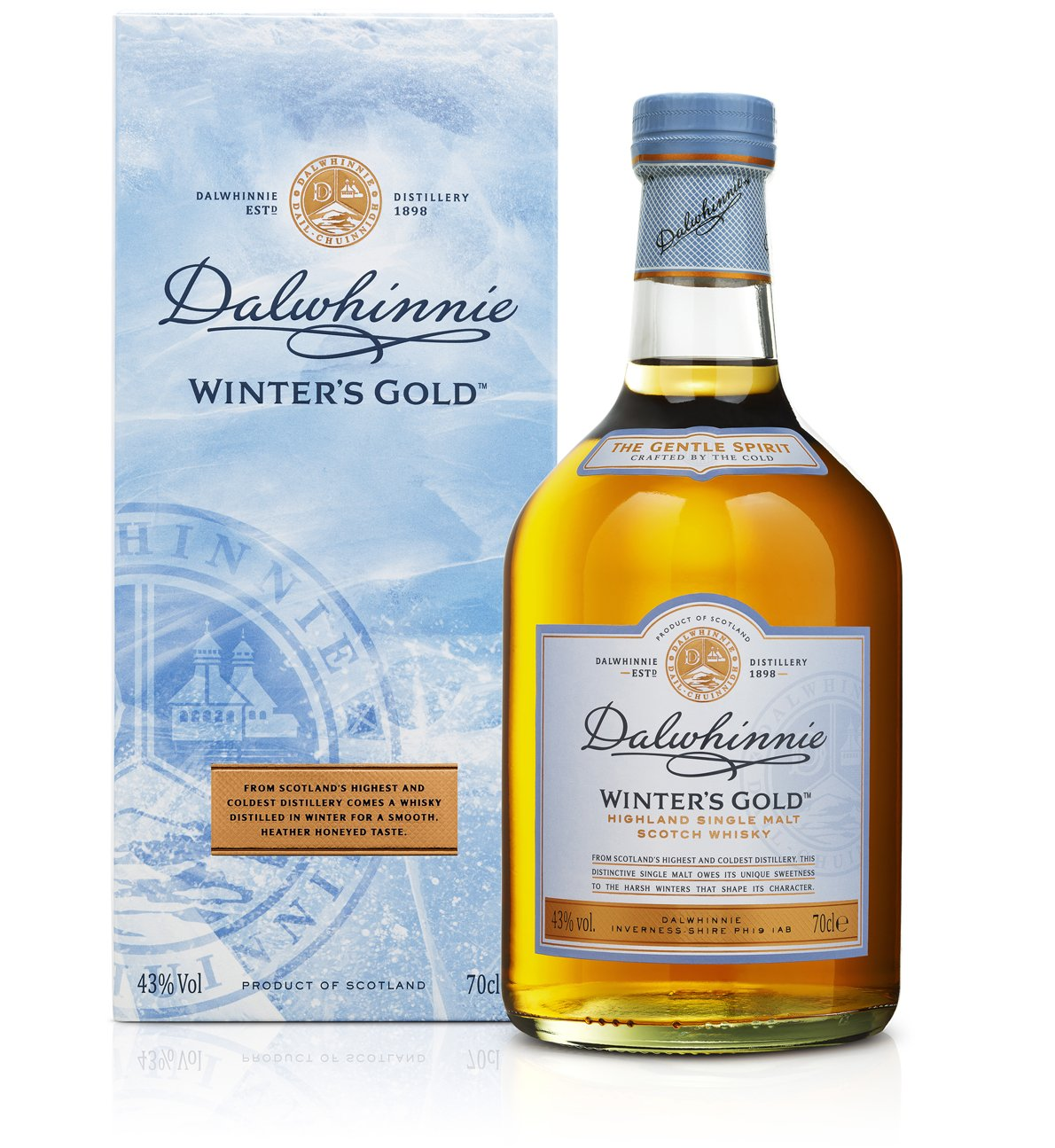 Dalwhinnie Winters Gold Highland Single Malt Scotch Whisky (1 x 0.7 ...