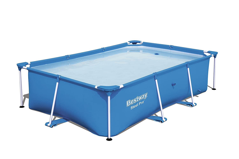 Piscina Desmontable Tubular Infantil Bestway Splash Jr. Frame Pool 221x150x43 cm
