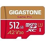 Gigastone 512GB Micro SD Card A2 V30 U3 C10 Class 10 Micro SDXC UHS-I Memory Card with MicroSD to SD Adapter High Speed…