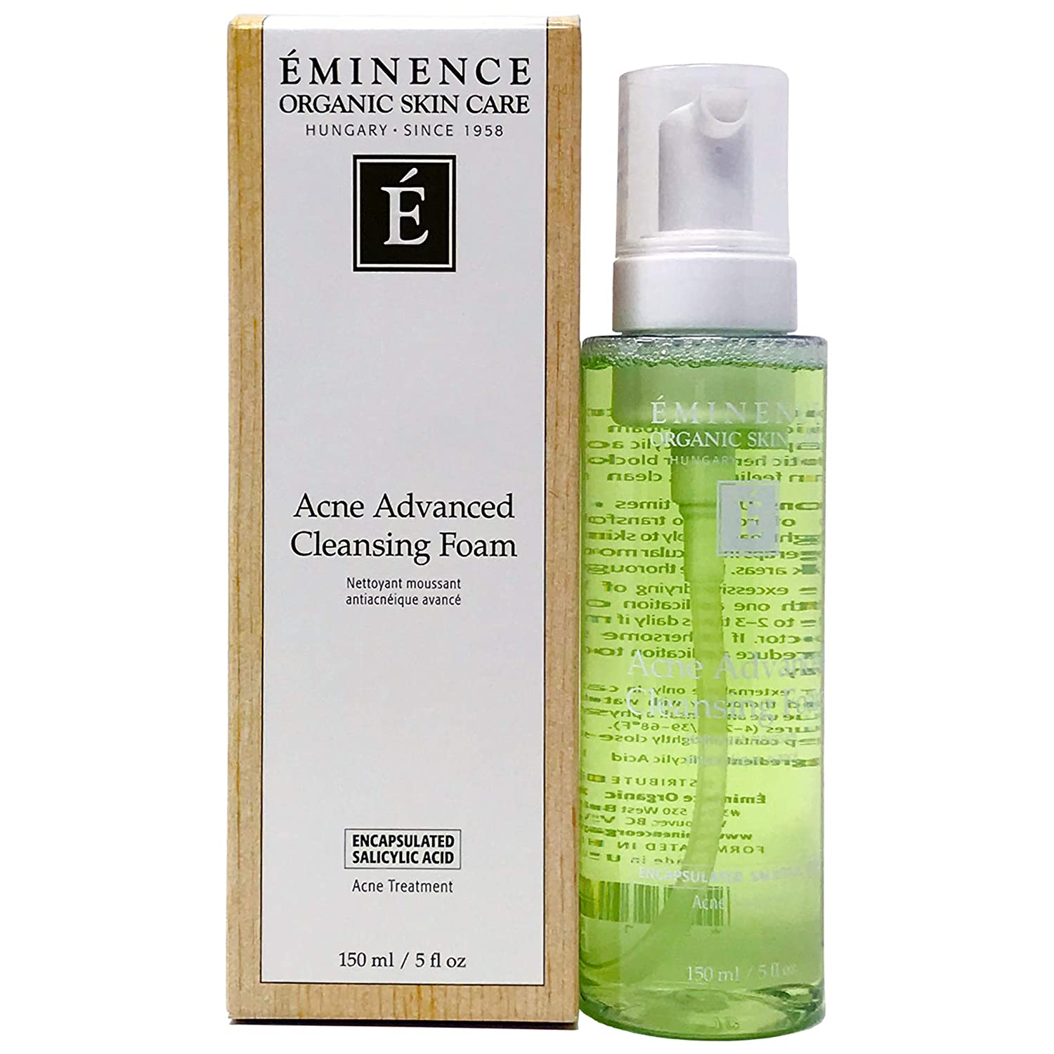 Eminence Organic Skincare Acne Advanced Cleansing Foam