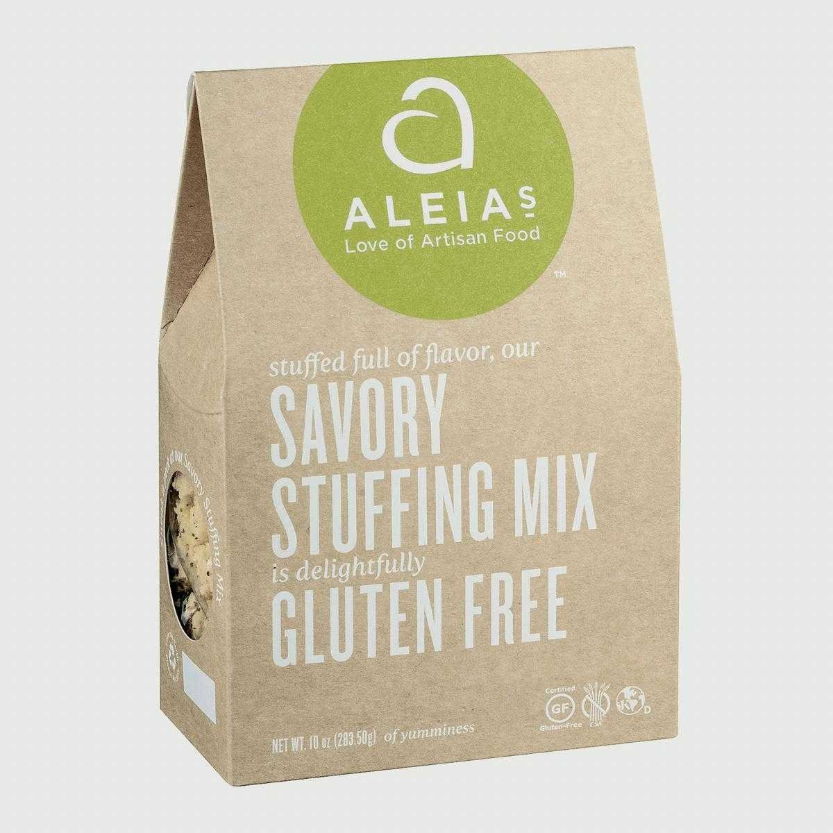 Aleia'S, Savory Stuffing Mix; Gluten Free, Pack of 6, Size - 10 OZ, Quantity - 1 Case by Aleias