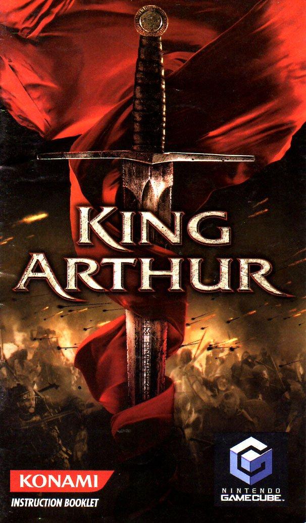 amazon com king arthur gamecube instruction booklet nintendo rh amazon com Nintendo DS Sega Genesis