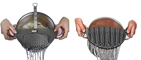 Amazon.com: DUXU coladores de cocina – Pack de 2 broches de ...