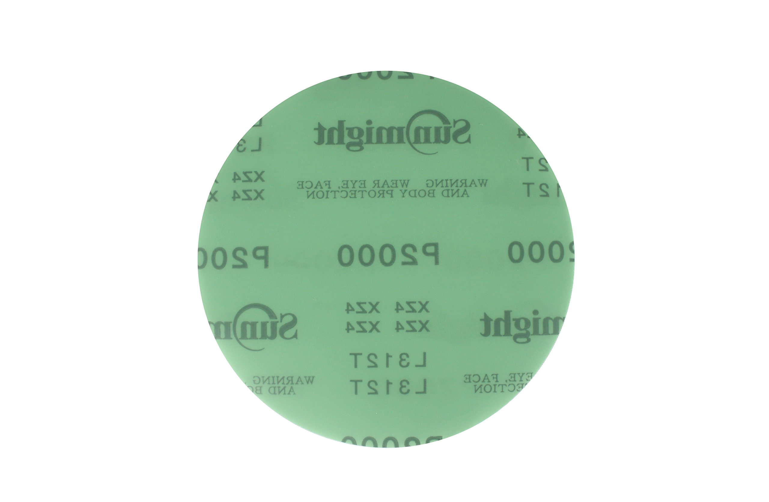 Sunmight 01423 6'' No Hole Velcro Disc (Film Grit 2000)