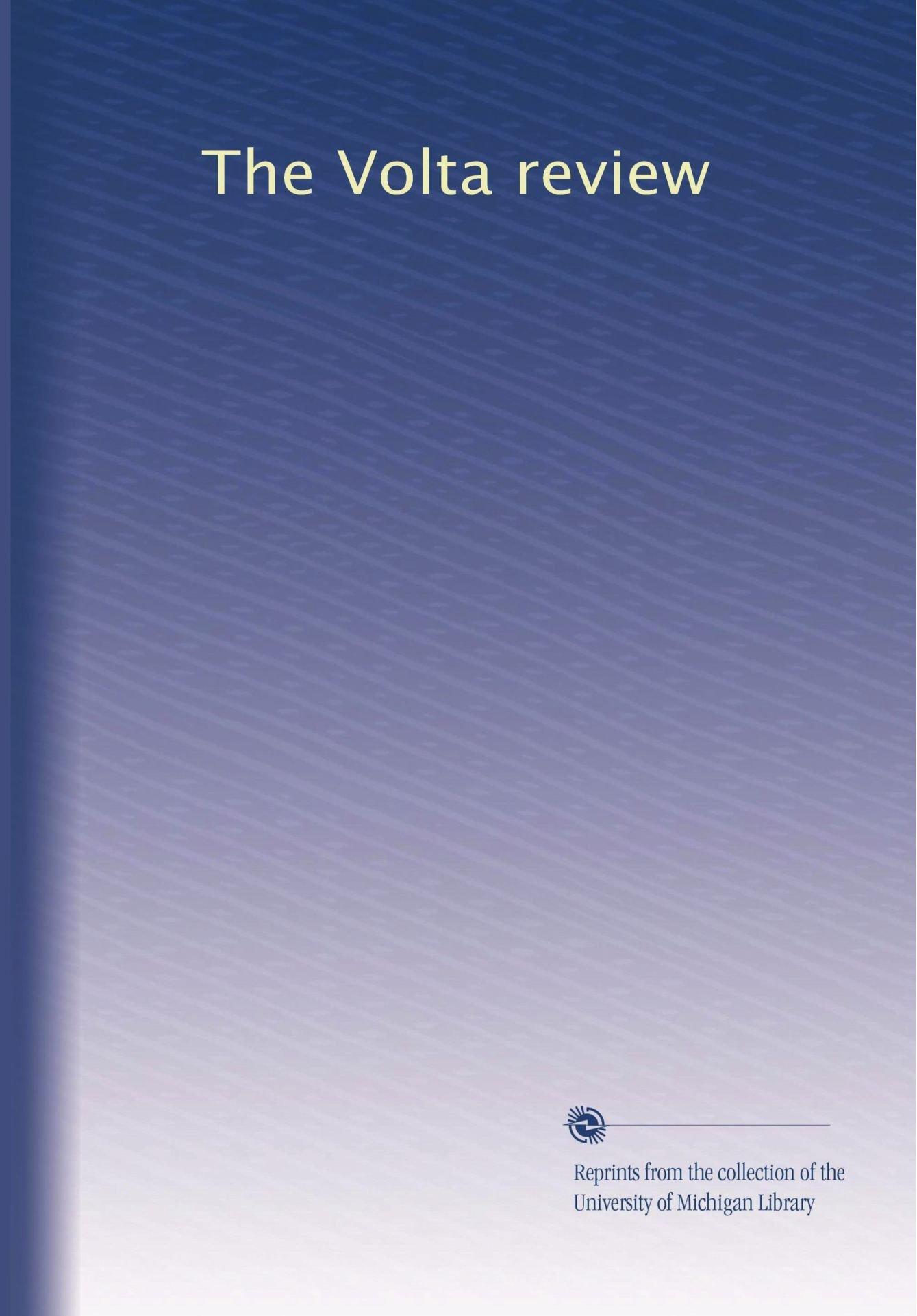 The Volta review (Volume 7) pdf