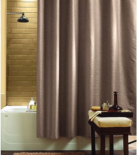 Jacquard Cortina de ducha Baño Agua y vapor. Tela con Diseño de ...