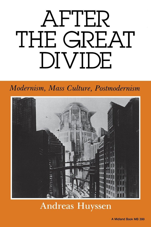 after the great divide modernism mass culture postmodernism