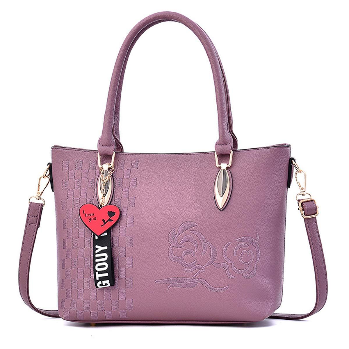 Damentasche Exull-92091 Handtasche Damen Leder Handtasche Handtasche Handtasche Schultertasche lässigen Tasche Handtasche Elegant B07MX5F6SQ Henkeltaschen Ein Gleichgewicht zwischen Zähigkeit und Härte e0e432