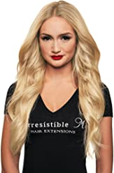 IRRESISTIBLE ME 1 piece Clip in Hair Extensions Platinum Blonde (#613) - 100
