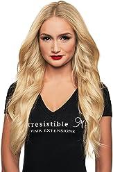 IRRESISTIBLE ME 1 piece Clip in Hair Extensions Platinum Blonde (#613) - 100