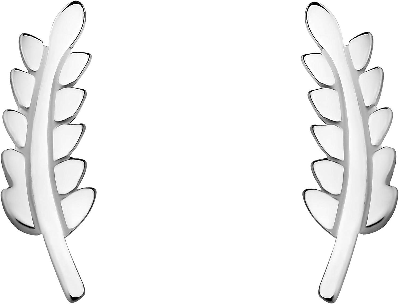 SOFIA MILANI Boucles dOreilles Femme Feuilles Branches 925 Argent 20679