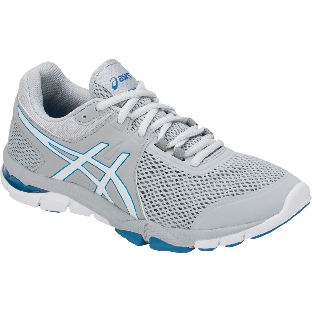 ASICS Women's Gel-Craze TR 4 Cross-Trainer Shoe B077NHYB1K 9 B(M) US|Mid Grey/White