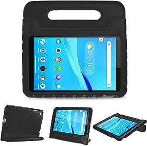 ProCase Kids Case for Lenovo Tab M8 HD/Smart Tab M8/Tab M8 FHD 2019, Lightweight Shockproof Kids Friendly Case for Lenovo M8 TB-8505F TB-8505X TB-8505FS TB-8705F TB-8705N 8.0 Inch Tablet -Black