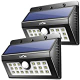 Amazon Price History for:Solar Lights Outdoor, LITOM Super Bright Motion Sensor Wall Lights With 2nd Generation LED, Solar Wireless Security Waterproof Lighting For Outdoor Garden Patio Yard Garage RV (2 Pack)