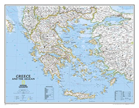 Amazon.com: Greece Clic Wall Map Map Type: Laminated (24 ... on portugal map, norway map, poland map, ireland map, germany map, sparta map, australia map, turkey map, denmark map, spain map, rome map, serbia map, japan map, china map, france map, sri lanka map, united kingdom map, crete map, greek map, africa map, peru map, europe map, mediterranean map, belgium map, ionian sea map, austria map, czech republic map, england map, italy map, canada map, iceland map, cyprus map, india map,